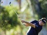 Phil Mickelson hits from the fairway during the first round of the Humana Challenge golf tournament on January 17, 2013