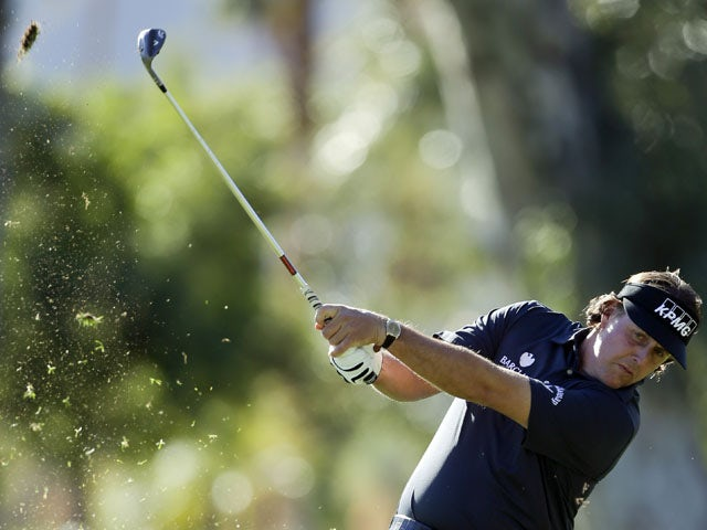 Mickelson pleased to end drought