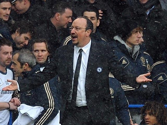 Benitez urges Chelsea to improve
