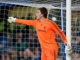 Chelsea goalkeeper Sam Walker during his sides FA Youth Cup match with Aston Villa on May 04, 2010