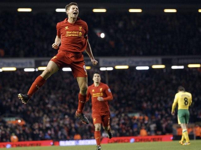 Team News: Gerrard gets Liverpool recall