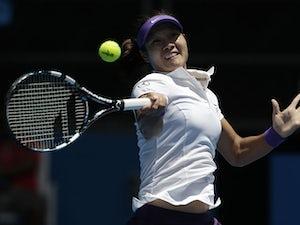Result: Li Na through to round three