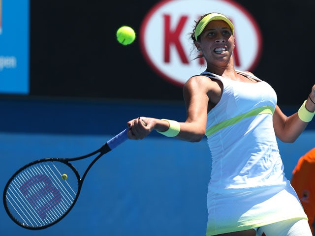 Result: Keys trashes Paszek