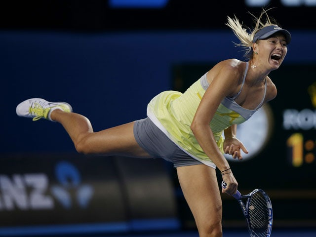Sharapova admits to superstitions