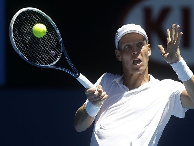 Berdych pleased with improvement