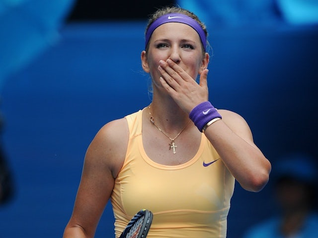 Victoria Azarenka, after her second round victory at the Australian Open on January 17, 2013