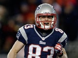 New England Patriots' Wes Welker on December 30, 2012
