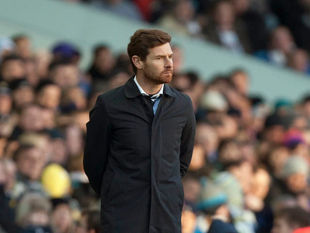 Tottenham Hotspur's Andre Villas-Boas on the touchline during the FA Cup fourth round tie against Leeds on Janaury 27, 2013