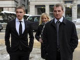 Anton Rodgers and Brendan Rodgers at court on January 21, 2013