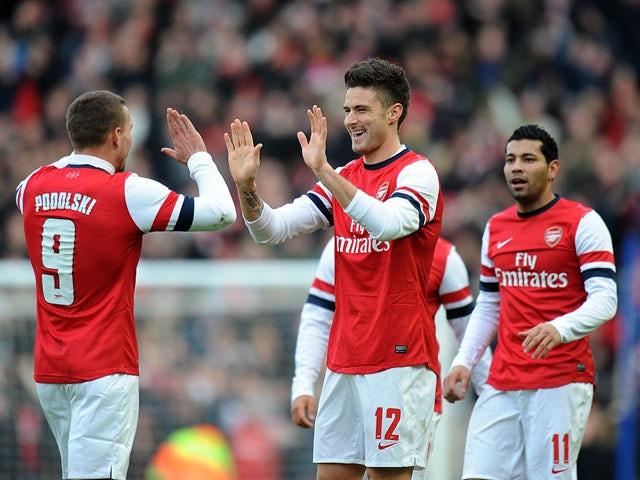 Result: Arsenal hit Vietnam for seven