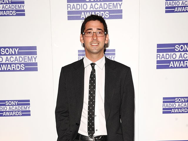 Presenter Colin Murray arrives at the Sony Radio Academy Awards on May 9, 2011