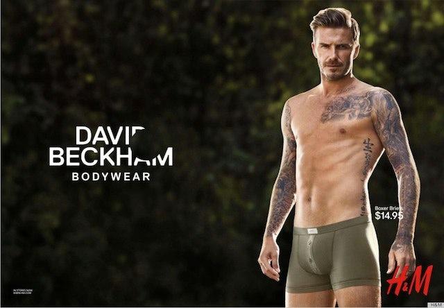 David Beckham H&M 2013 advert