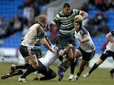 London Irish's Guy Armitage in action against Worcester on January 27, 2013