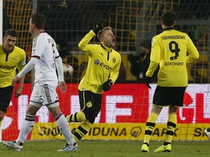 Result: Dortmund too strong for Dusseldorf