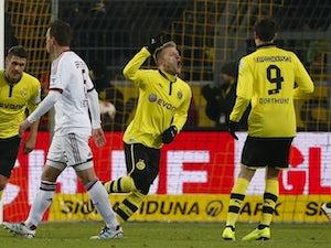 Result: Dortmund too strong for Dusseldorf