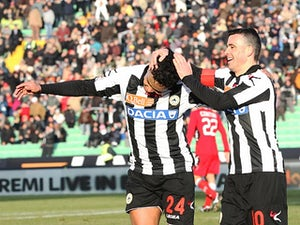 Team News: Muriel replaces Di Natale for Udinese