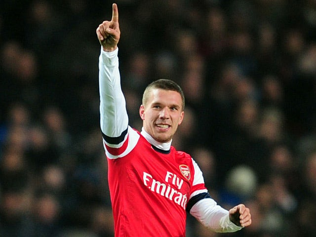 Podolski excited by pre-season tour