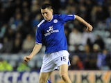 Leicester loanee Michael Keane in action against Huddersfield on January 1, 2013