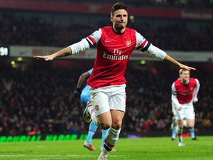 Wenger impressed with Giroud