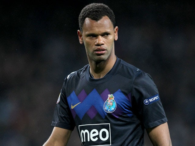 Porto defender Rolando during his sides Europa League match with Manchester City on February 22, 2012