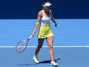 Wozniacki unhappy at umpire call