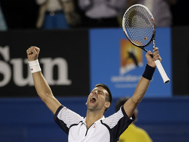 Result: Djokovic powers past Berdych in four sets