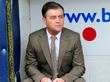 Macclesfield Town manager Steve King prior to his sides match with Wigan Athletic on January 26, 2013