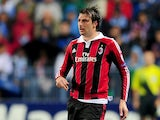 Francesco Acerbi of AC Milan during his team's match with Malaga on October 24, 2012