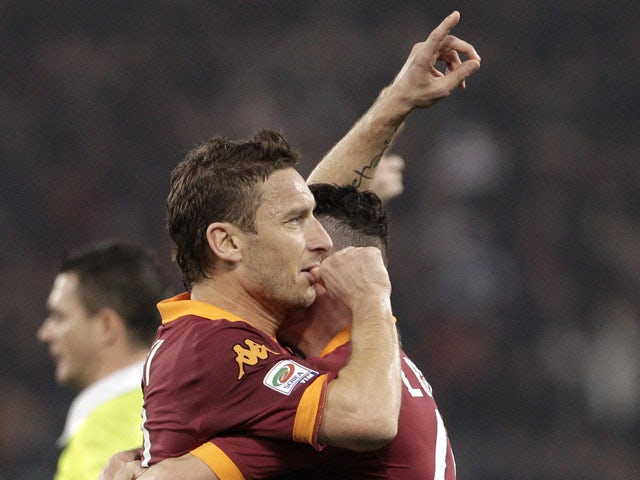 Totti hints at retirement next summer