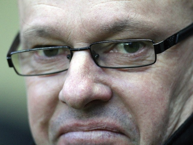 A frightening close-up of Reading manager Brian McDermott on January 19, 2013