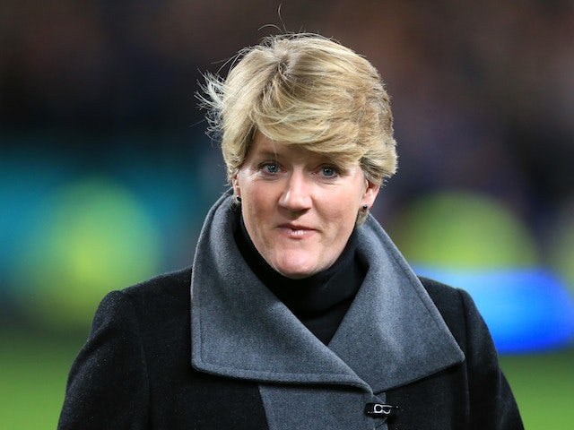 Clare Balding in October 2012