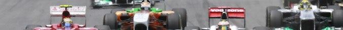 Generic team header for a formula 1 team
