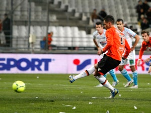 Result: All square between Lorient, Valenciennes