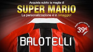 Milan fans buy wrong Balotelli shirts?