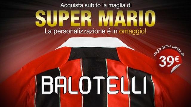 Milan fans buy wrong Balotelli shirts?