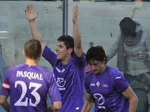 Result: Larrondo edges Fiorentina past Chievo