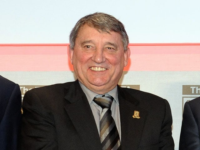 Former England manager Graham Taylor FA Anniversary Celebrations Launch on January 16, 2013