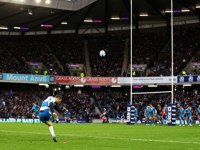Laidlaw dedicates win to Scottish fans