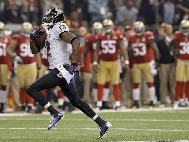 Ravens return the kick-off