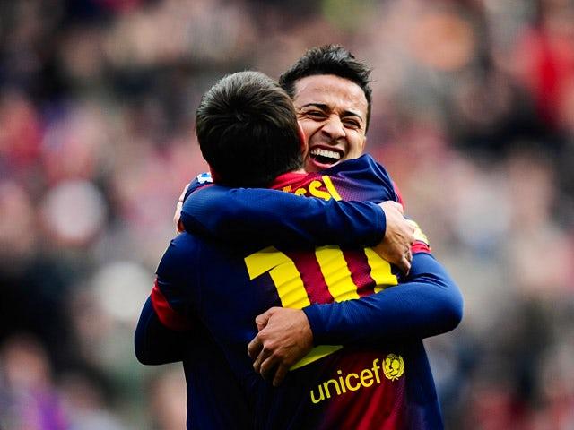 Result: Barcelona hit Getafe for six