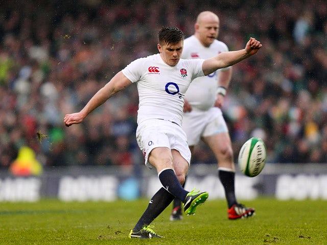 Result: Farrell kicks England to victory over Ireland