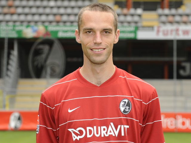 Freiburg defender Pavel Krmas poses for a photo on July 3, 2009