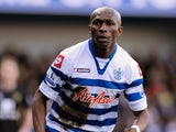 QPR defender Stephane Mbia in action against Norwich on February 2, 2013