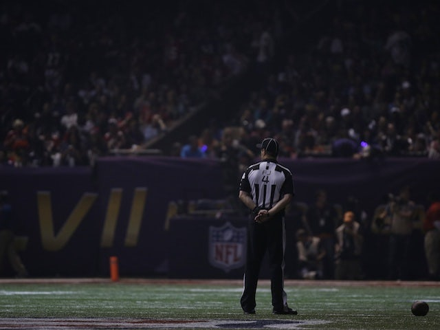 Power cut at the Superbowl