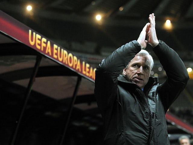 Pardew: 'We can cope with fixtures'