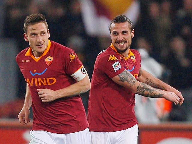 Result: Totti's goal gives Roma the win over Juve