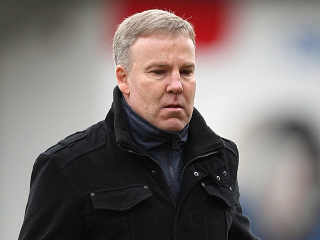 Millwall boss Kenny Jackett during the FA Cup 5th round match against Luton on February 16, 2013