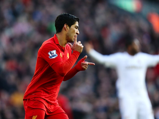 Result: Liverpool hit Swansea for five