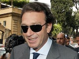 Cagliari president Massimo Cellino on July 7, 2006
