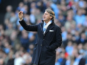 Mancini: 'Title race is on'